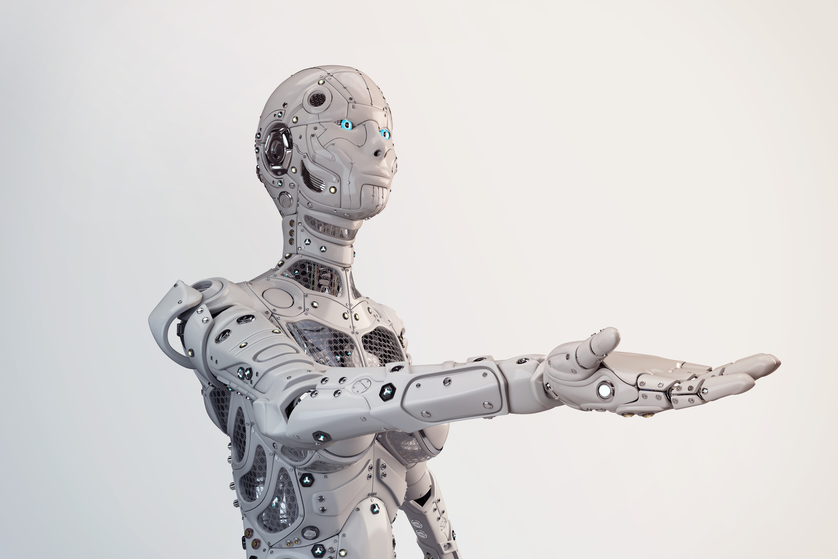Robotene inntar arbeidslivet