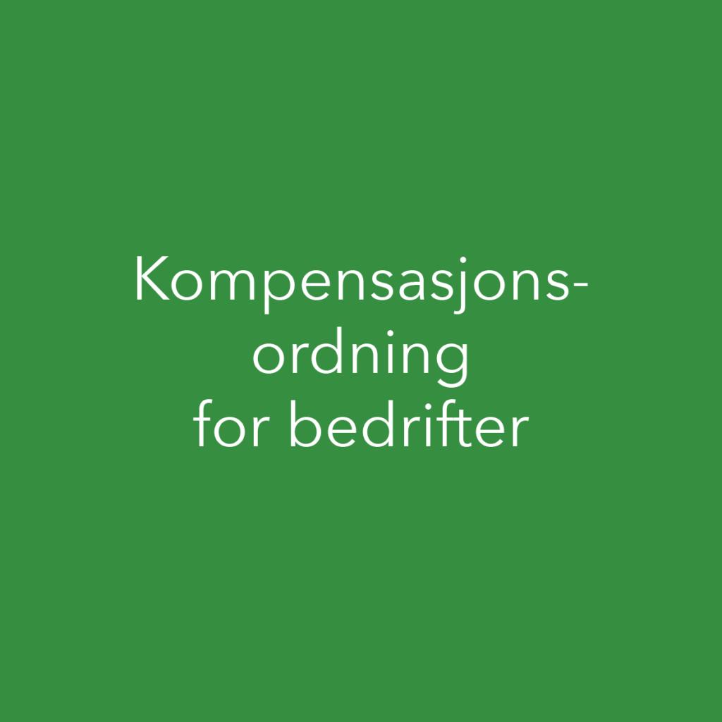Kompensasjonsordning for bedrifter
